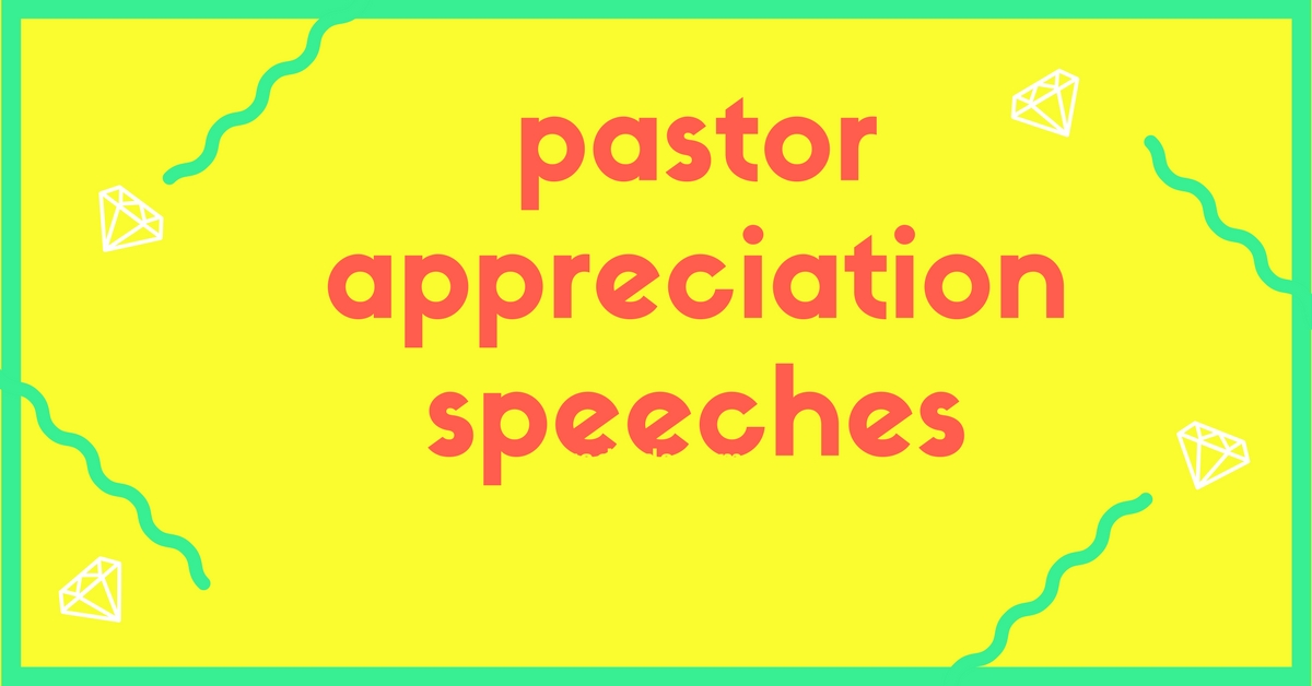 how to write an appreciation speech