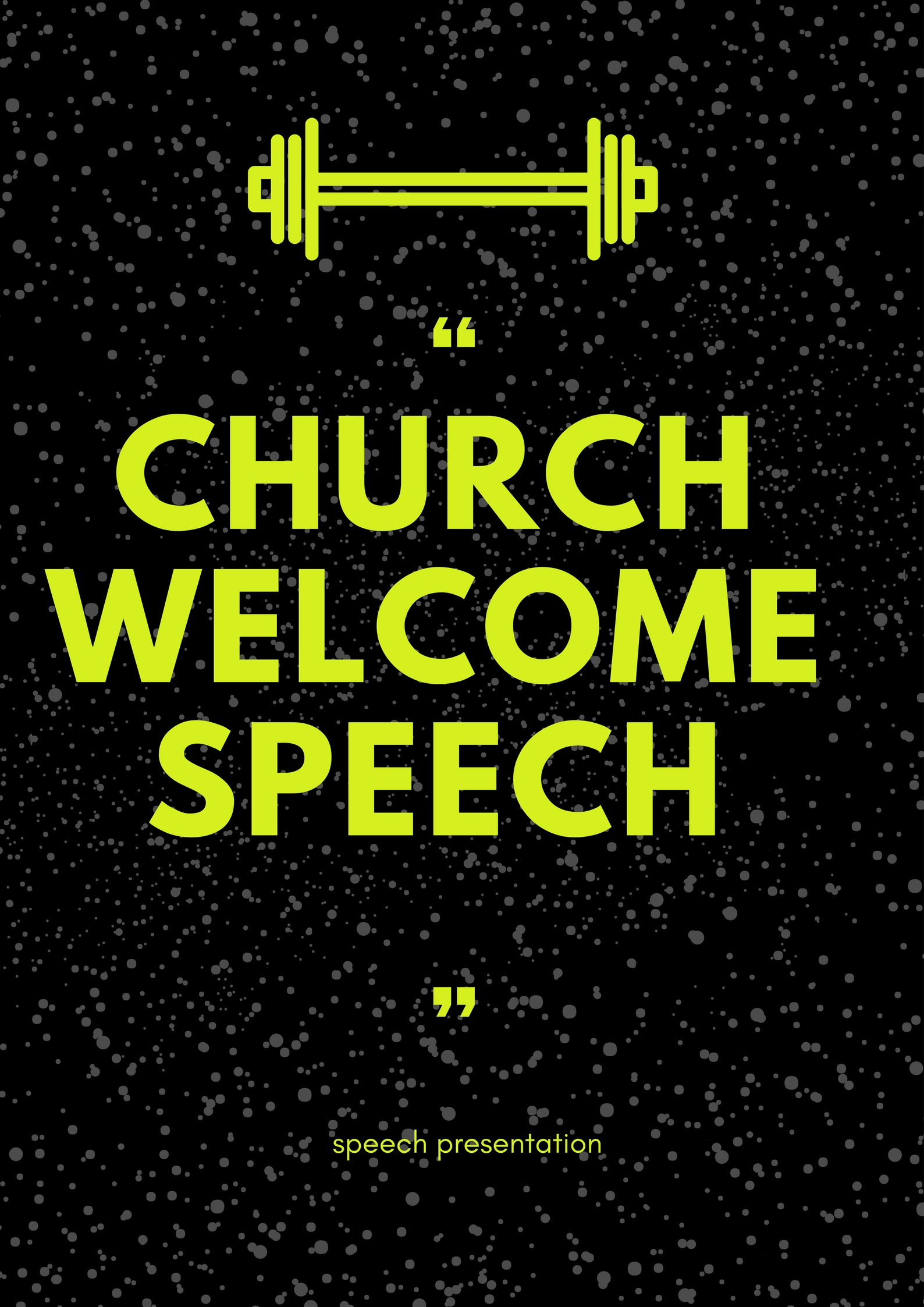 black church anniversary welcome speeches