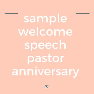 Church welcome speech sample church welcome greetings for programs thecheapjerseys Images