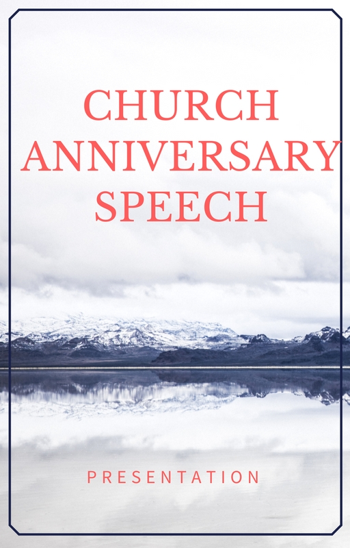 church anniversary welcome speeches