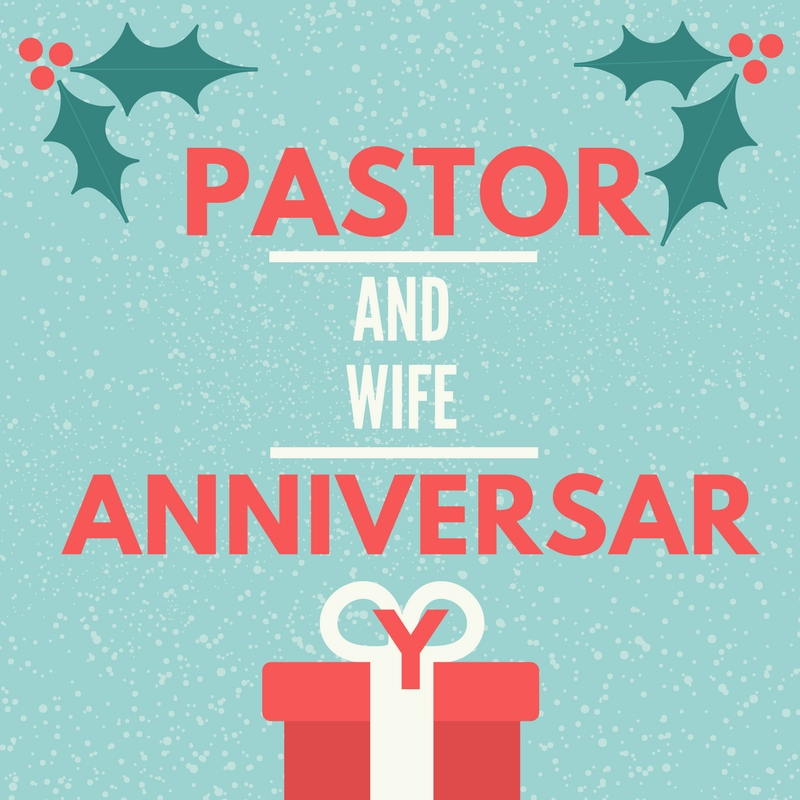 Pastor And Wife Anniversary Poems