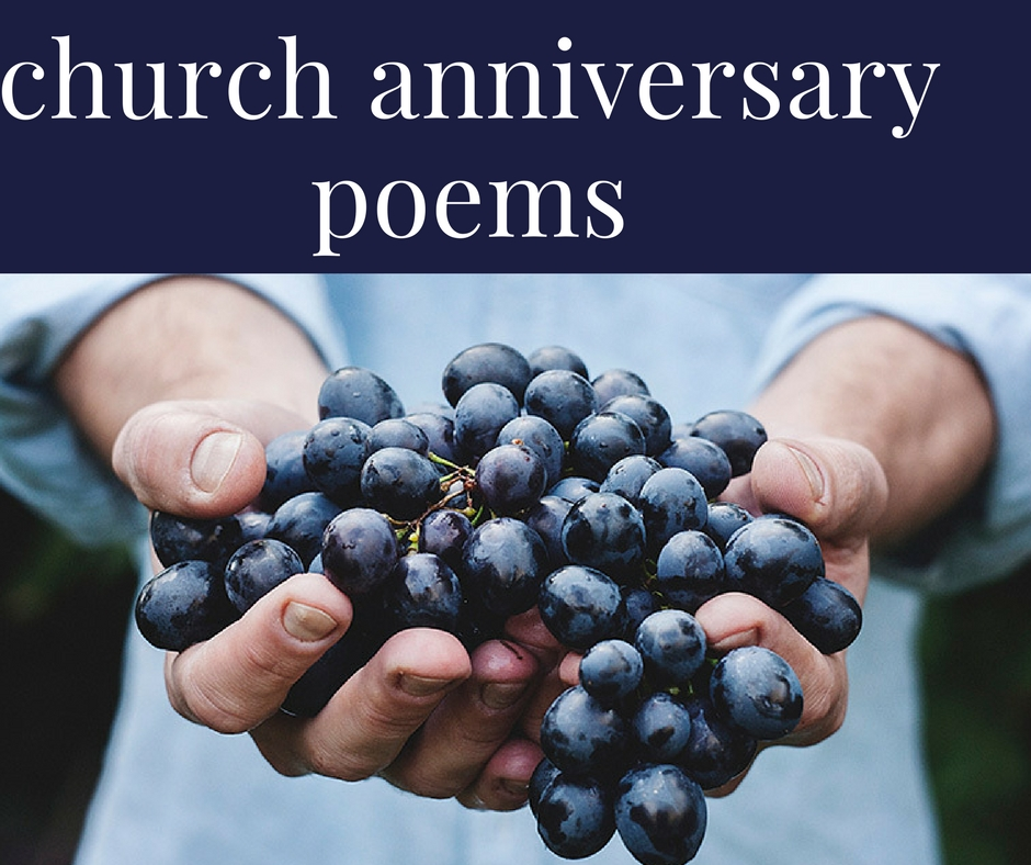church anniversary poems