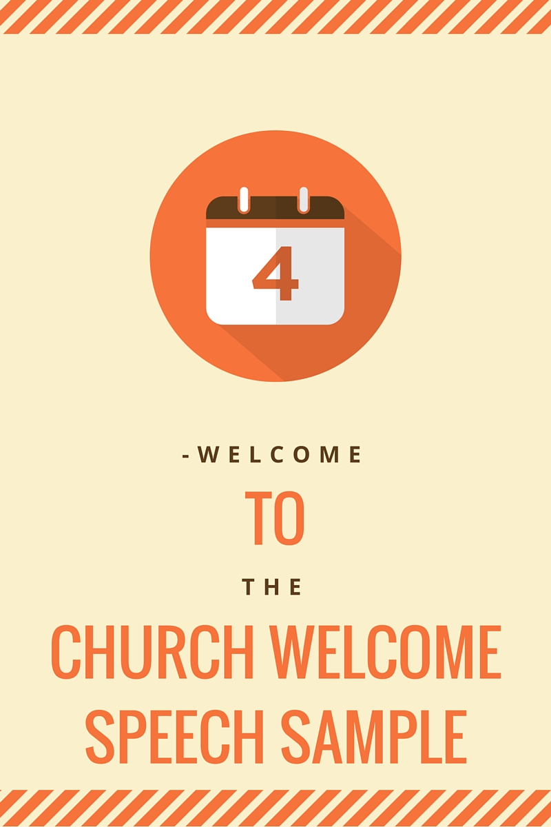 Church welcome speech sample churchwelcomespeechsampleg m4hsunfo