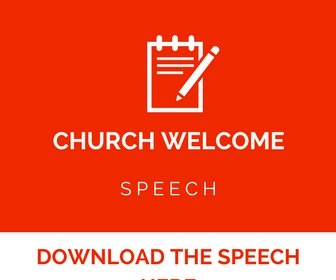 Church welcome speech sample home church welcome church letters church anniversary m4hsunfo