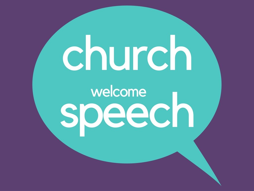 Church pastor guide for writing church welcome and ...